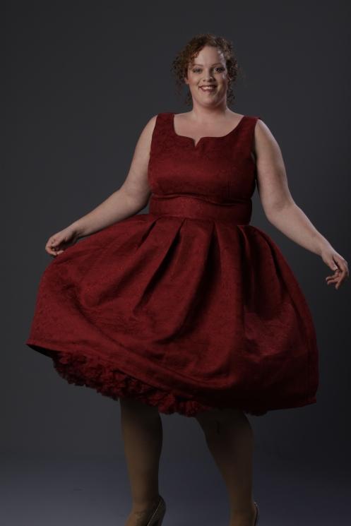 plus size Lindy Bop 50's swing dress